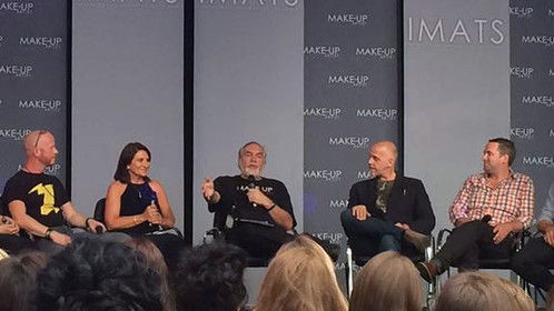 International Make-Up Trade Show. London 2015. Guardians of the Galaxy make-up and prosthetics panel.