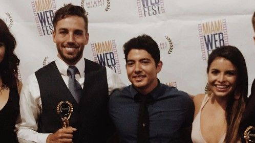 Part of the CON team at the Miami Webfest -- we won BEST DRAMA and BEST ACTOR. WATCH US NOW AT: CONTVSHOW.COM