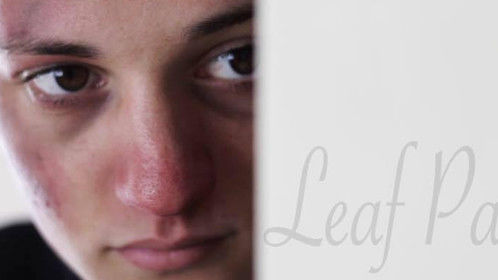"""Thumbnail for my short film """"Leaf Pages"""""""