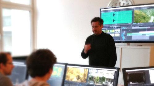 teaching a Premiere Pro CC class