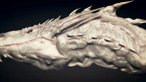 Smaug Zbrush Sculpt :)