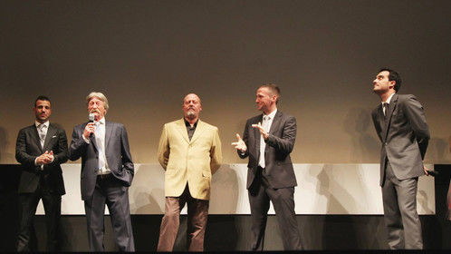"Presentation of my film ""3 Minutos"" in the Lope de Vega Theatre at the Sevilla International Film Festival"