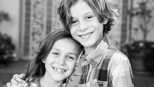 My amazing kids - Dylan & Marleigh.  They study acting with Bo Kane in L.A.