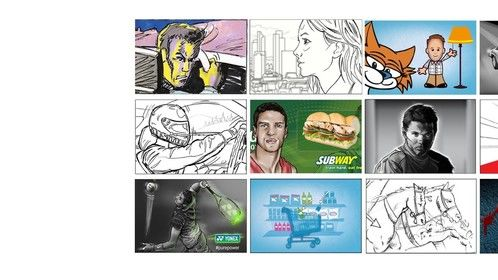 A few samples of recent storyboards