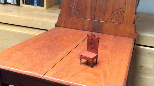 Prop-Maker (Miniature dollhouse chair) - Hugh Cornwell â