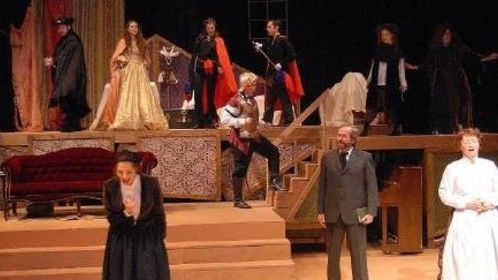 "A production of ""Little Women"" I directed."