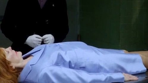 Susan Kirby as a corpse on Elementary.