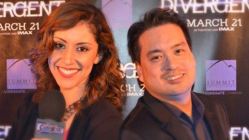 Me with SIDEWALKS host Veronica Castro