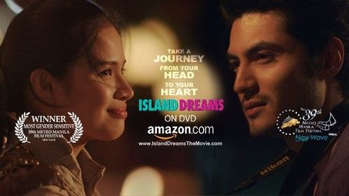 ISLAND DREAMS - An unaccredited tour guide and a heartbroken tourist form a romantic bond as they explore the wilds of Philippine Islands.