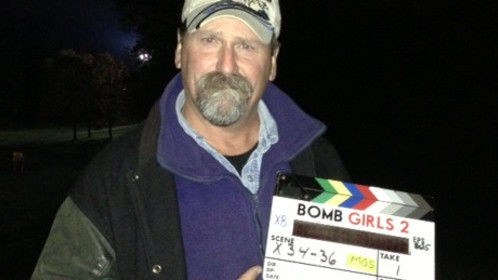 Directing 2nd Unit on Bomb Girls.