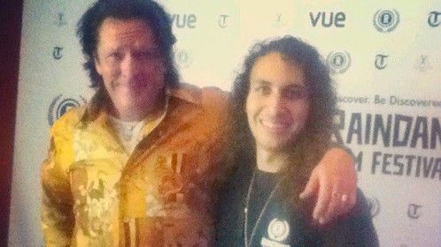 Michael Madsen at Raindance Film Festival for the premiere of The Ninth Cloud