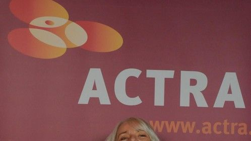 Happy at the 2013 Actra Awards
