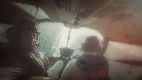 Aerial shooting over Strait of Melaca