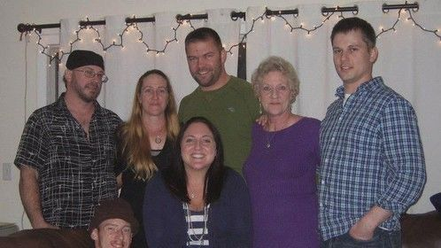 My Children and in-laws plus Grand-Daughter