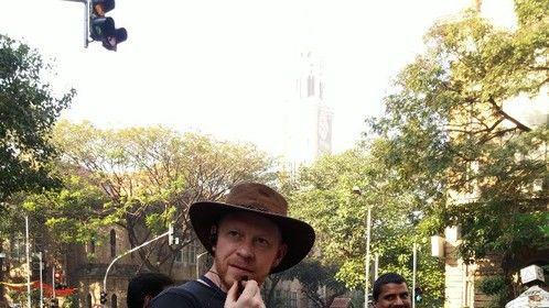 Mumbai 2015. Shooting 'Ghayal Returns'.