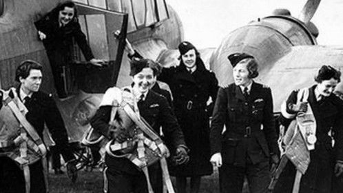 In January, 1940, Britain's civilian Air Transport Auxiliary (ATA) added the first 8 women to its roster of ferry pilots. Their purpose was to ferry new aircraft from factories to RAF Maintenance Units then out to operational squadrons, thus freeing up young RAF pilots for combat. In July, 1941, they finally got their chance to fly fighters and bombers.