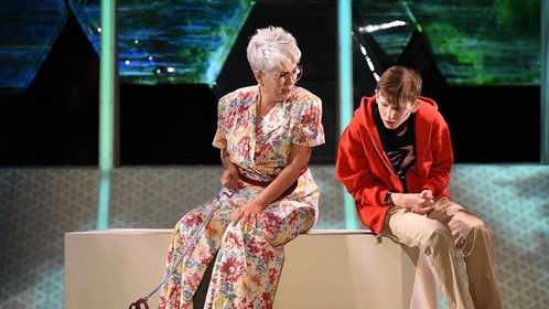 In the role of Mrs. Alexander co-starring with Logan Bruner as Christoper in Curious Incident... Performances run thru October 20, 2019