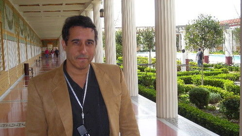 Indy Producer/Director/Writer Alan James at the Getty Villa, Malibu (Creator of YOTE Franchise)