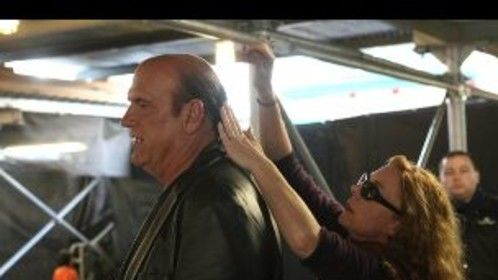 Jesse Ventura and I filming in the WTC.
