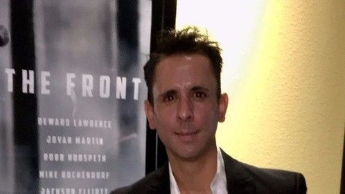 "Actor Randy Shoemake in attendance at ""The Front"" Red Carpet Premier."