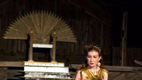 Princess Aura, Flash Gordon Conquers The Universe (2017 - Hip Pocket Theatre). Photo by Robert Bourdage