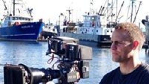 Filming in Neah Bay, Washington, on the beautiful Makah Nation.