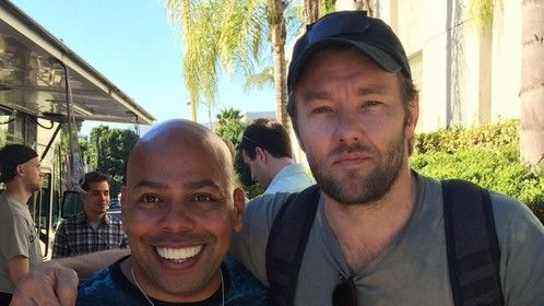 Pharaoh let my people go!!Destiny has a way of catching up to you! Chance meeting Joel Edgerton at a random spot on Beverly Blvd, having lunch @ TheLobosTruck! He is a great guy!  ‪#‎joeledgerton‬ ‪#‎pharoah‬ ‪#‎warrior‬ #www.exodusgodsandkings.com ‪#‎thehandbookoflove‬ www.brucelthompson.org