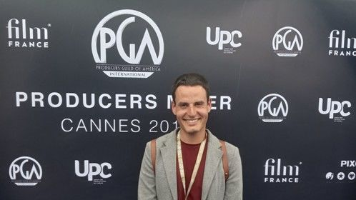 At Cannes Producers Mixer.