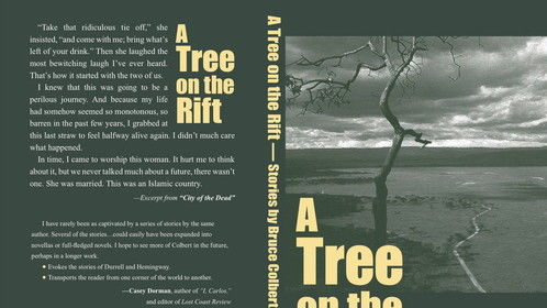 Bruce Colbert's new book, A Tree on the Rift. Now on Amazon Books.