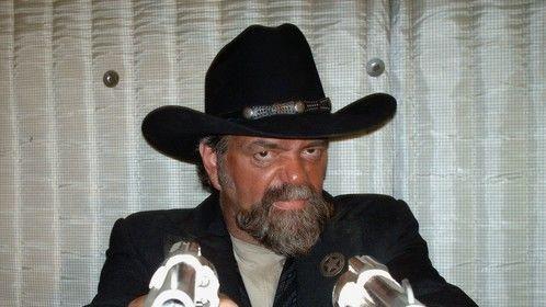 From the movie 'Cantina'. I played Captain Harris- Texas Ranger.