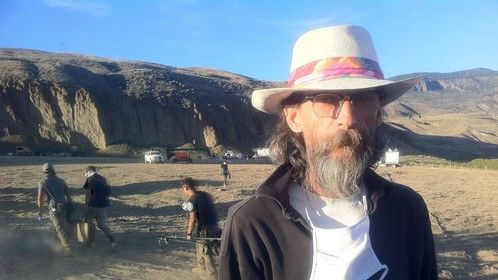 Filming in the desert of Cache Creek, British Columbia. The pinks were jumping not far from where I was standing, a majestic experience!
