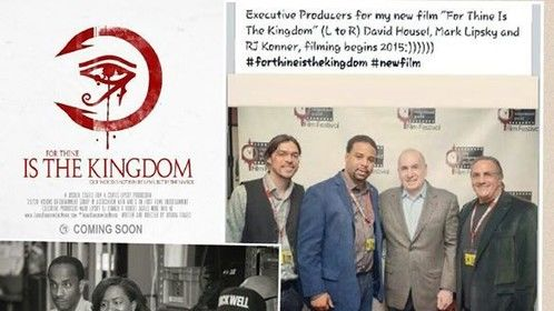 """So we received the green light we start filming the movie For Thine Is The Kingdom January 2015 stop by """"Like"""" the page and stay tune for updates we have a great cast also looking forward to working with Director Joshua Coates Mark Lipsky, RJ Konner, Melvin Wiliams, Etc!!..#ForThineIsTheKingdom#CelebrityCast#InTheatersEveryWhere#NewsReporter#ThouKingdomComesToHollywood#ActorsLife#GratefulToBeApart"""