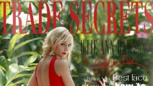 Julie Ann Dawson, Trade Secrets magazine, August 2014. Trisha Kelley Photography