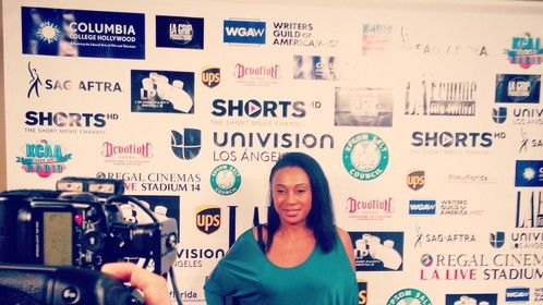 Red Carpet  for La Femme Film Festival closing night at The LA Film School