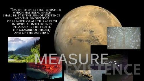 A Measure of Existence