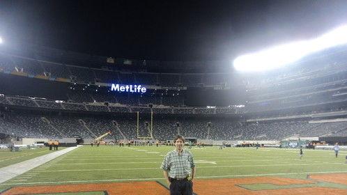 "At Met Life ""Stadia""   Sept 2014"