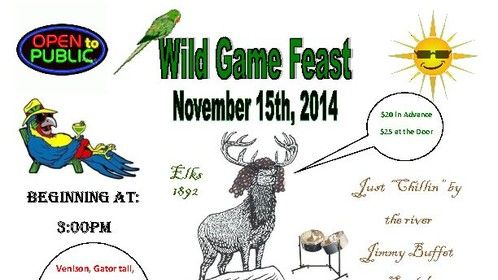 Great event at the Elks Lodge in Green Cove Springs.  Don't miss it!