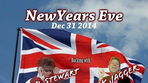Rolling Stones/Rod Stewart Tribute show, NYE at the Elks Lodge in Green Cove Springs. Make your reservations now.  Open to the public..
