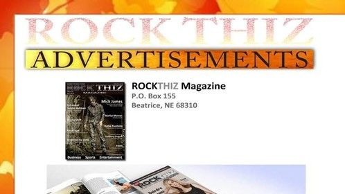 Rock Thiz Magazine Nov 2014 Order Your Copy  https://rockthizmagazinebrand.squarespace.com/rockthizmagazineshop/