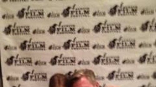 With American Crime Executive Producer Mike McDonald at the 2014 Austin Film Festival.