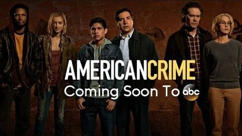 American Crime Cast.  Starring Timothy Hutton and Felicity Huffman.