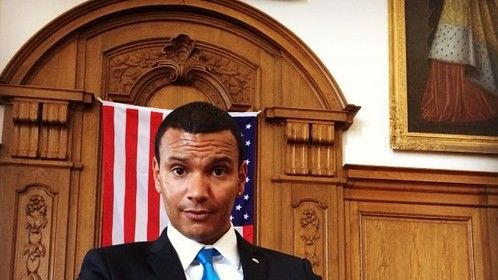 Finally Premier, November 27, for Vaskduellen and me featuring President Barack Obama. Might not be a big role but it is a great honor - so exciting!
