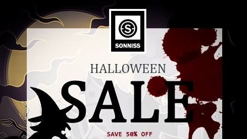 Sonniss Halloween Sale. 50% off select Horror and Gore sound effects libraries until October 31st.