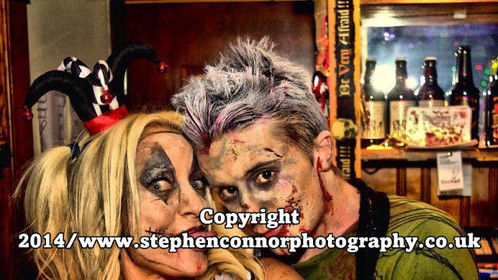 www.stephenconnorphotography.co.uk Hayfield Lodge, Doncaster, Halloween Night: 31st October 2014