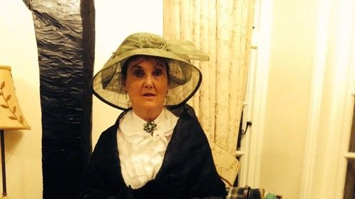 Playing a Victorian lady at a Murder Mystery Evening