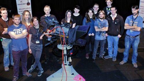 Bill Vinten GTC University Awards 2014 held at Heslington Studios, University of York, 22nd October,