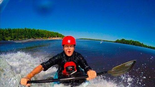 Introducing Wild Big-Waves kayaking story, Canada