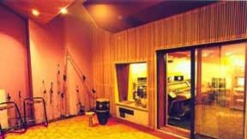 Studio A recording Room