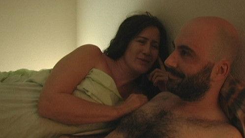 Canadian actor Luc Bernier and Las Vegas scream queen Donna Hamblin.