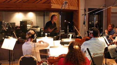 Recording Session at Entourage Studios - North Hollywood